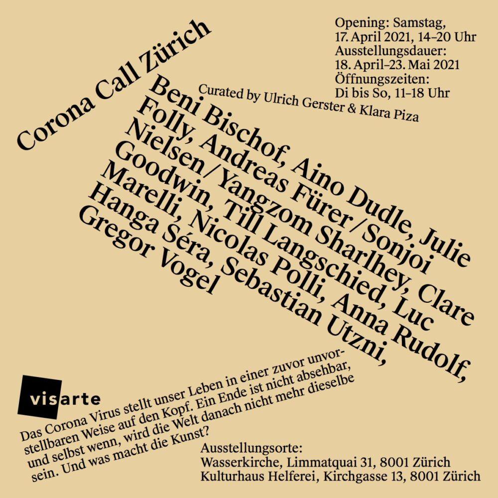 Erste Ausstellung<br>Corona Call