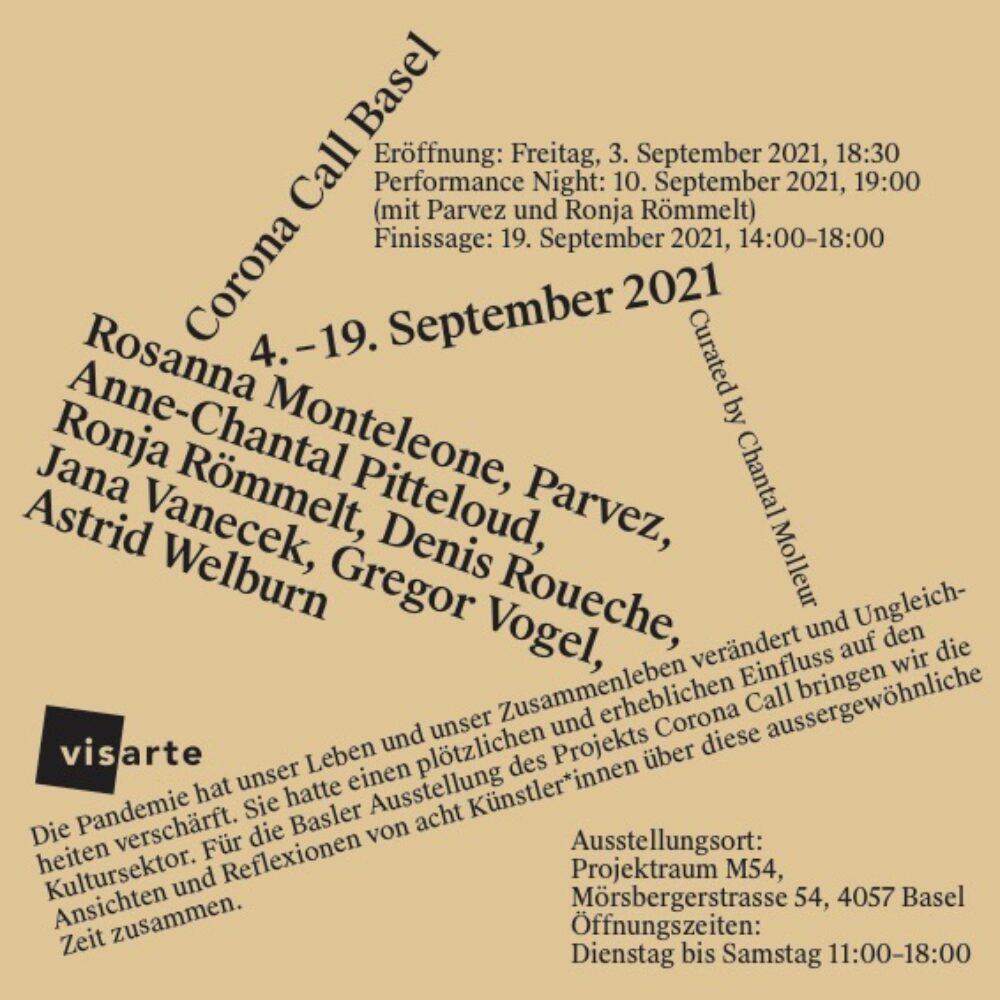 Ausstellung Corona Call Basel